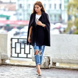 Стильное пальто женское кашемир